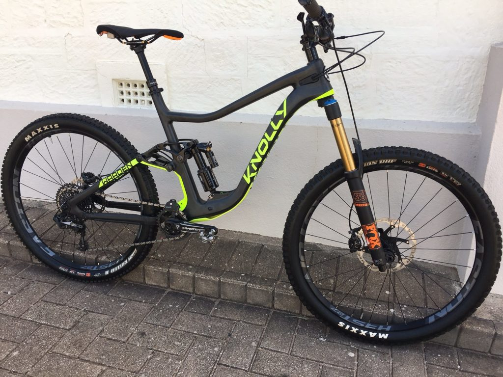 Knolly Warden Carbon - 27.5