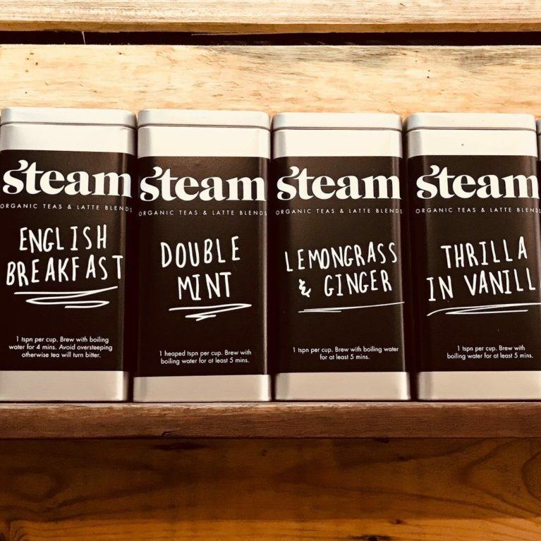 Steam Tea