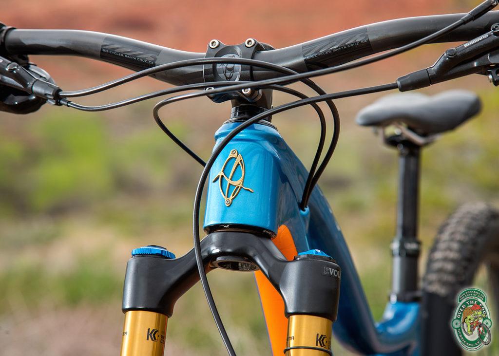 Ibis Ripmo 29er headtube detail
