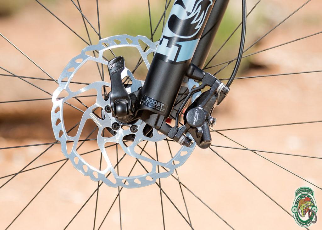 Shimano Deore Disc Brake Detail Photo