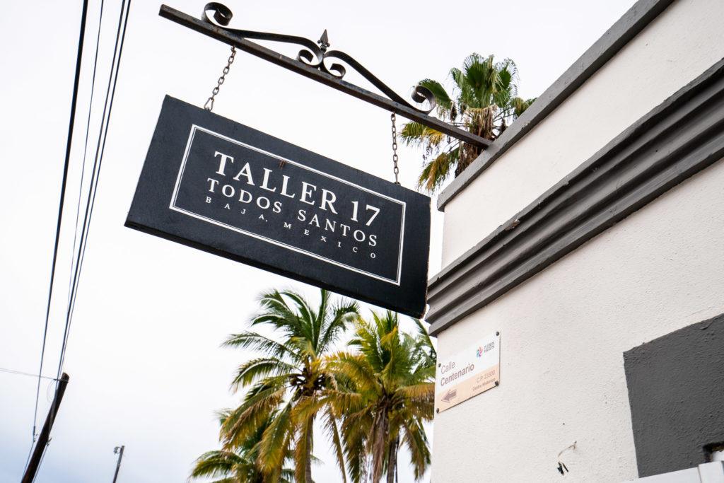 Taller 17 Coffee Shop and Bakery in Todos Santos