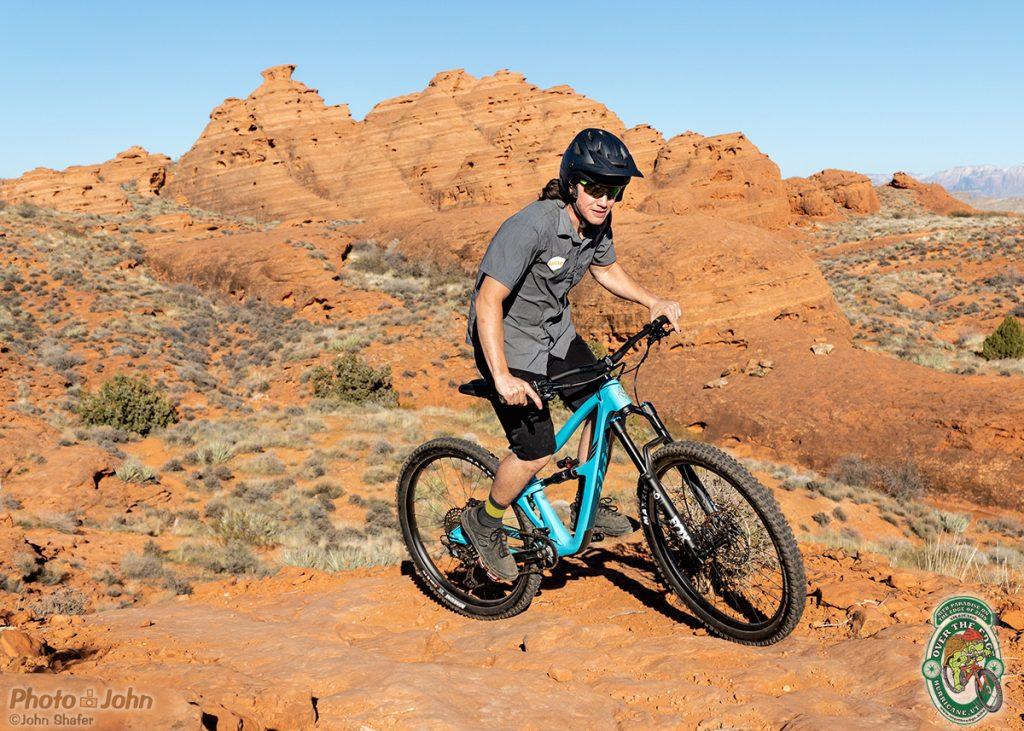Mountain biking at Church Rocks
