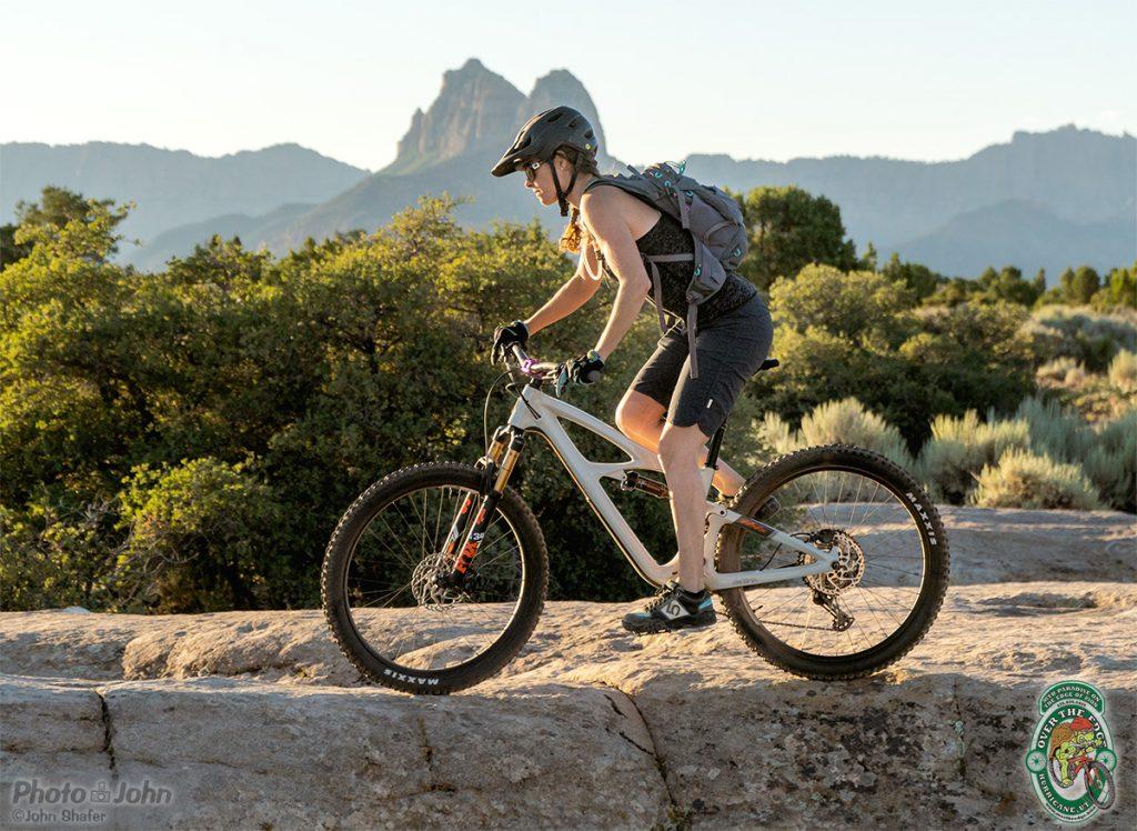Sunrise Mountain Biking at Gooseberry Mesa