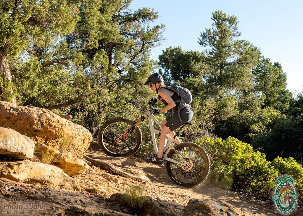 Bowls & Ledges Trail - Gooseberry Mesa, Utah.