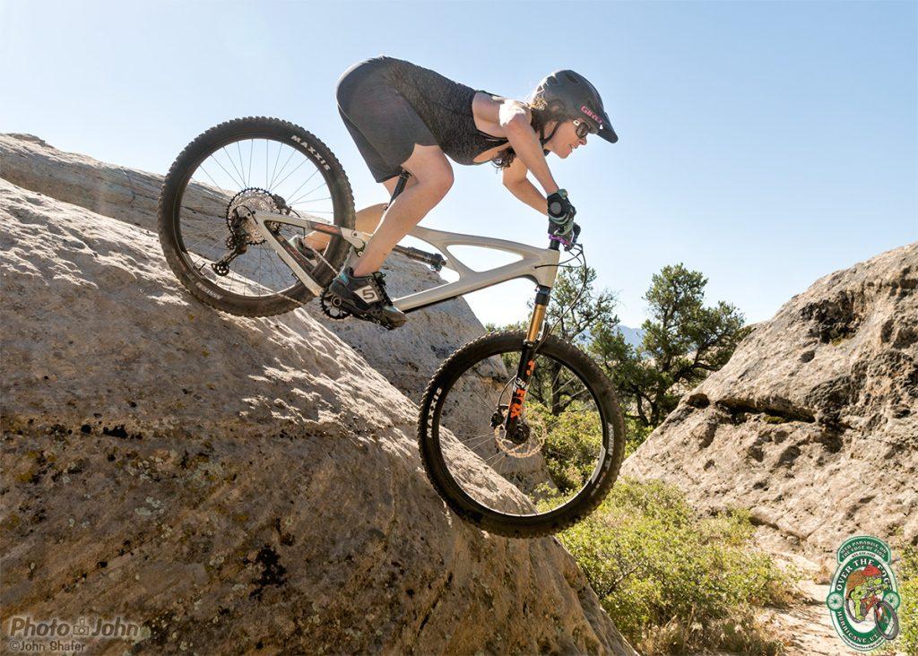 Mountain Biking on Gooseberry Mesa's Famous Slickrock