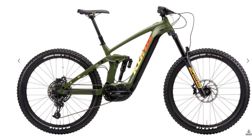 2021 Kona Remote 160 *E-Bike*
